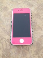 PINK iPhone 4S with EXTRAS!!