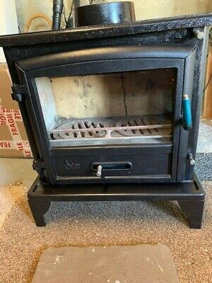 Valor Ridlington  Log Burner Multi Fuel Wood burning Stove Used collection ONLY
