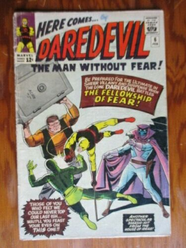Daredevil 6    First Appearance Mister Fear
