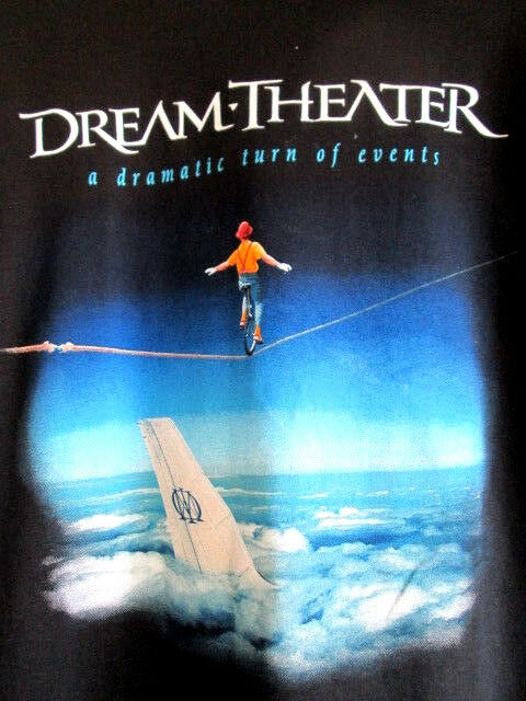 DREAM THEATER...A DRAMTIC TURN OF EVENTS...TOUR...T-SHIRT...NEW...sz S