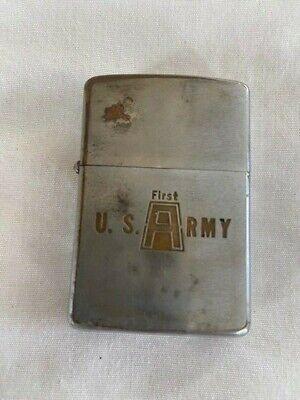 1966 First Army Zippo Lighter Vietnam War
