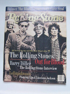 - Rolling Stone 689 '94 Rolling Stones Barry Stiller Flaming Lips Nick Cave
