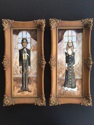 HAUNTED HOUSE TEENAGERS!  Original Spooky Monster Art Paintings by Mike Hoffman!