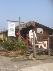 Marine Supply Store and Cafe for sale