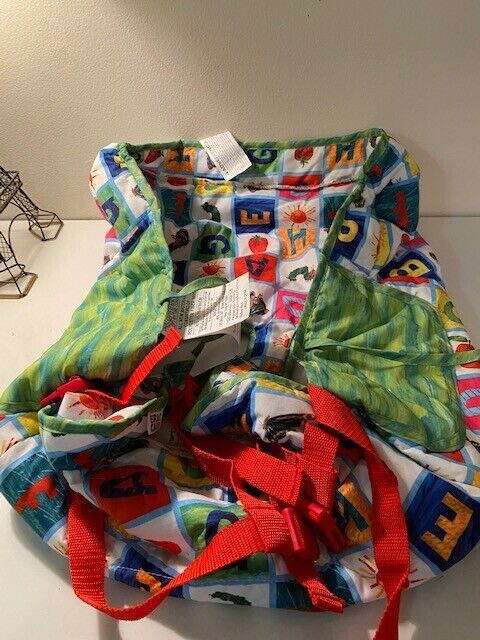 The World of Eric Carle Hungry Caterpillar Shopping Cart & High Chair Cover