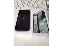 Apple iPhone 4s 16GB Jet Black - Great Condition