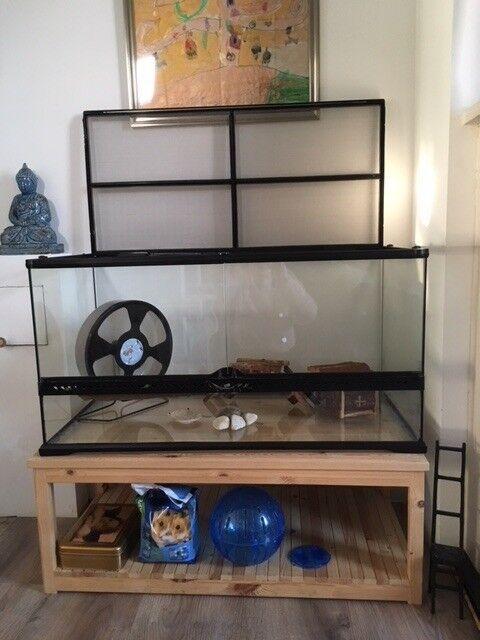 Terrarium 90x67x46cm For Small Pet Eco Terra For Hamster Gebril