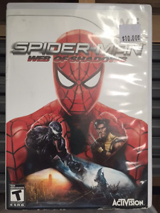 Wii Spider-Man Web of Shadows
