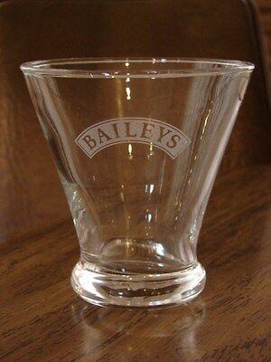 Bailey's Irish Cream Tapered Logo Glass Collectible Gift Christmas New Years
