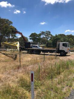 Truck hire & crane