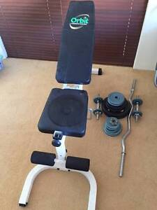 Weight Bench and Leg Extension Duncraig Joondalup Area Preview