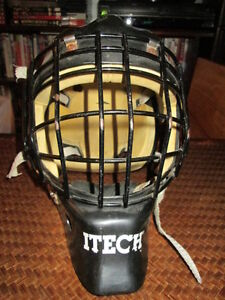 ***ITECH 935 PROFILE Z JR GOALIE MASK/HELMET!!!***