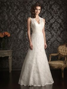 REDUCED -  Allure Wedding Gown