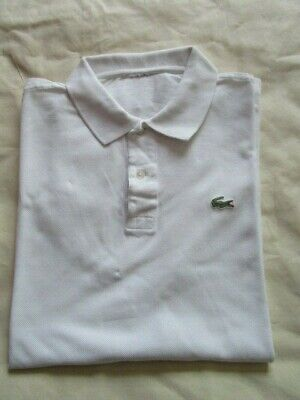 Polo manches courtes lacoste  taille 4