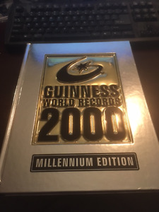 Guinness Book of Records - 1998, 2000, 2002 Editions - $3 Each