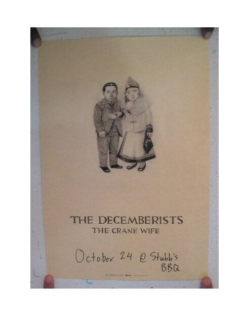 The Decemberists Poster  The Crane Wife