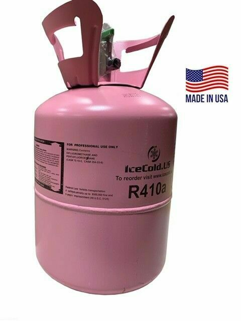R410a, R-410a R 410a Refrigerant 11lb tank. New Factory Sealed (MADE IN USA)