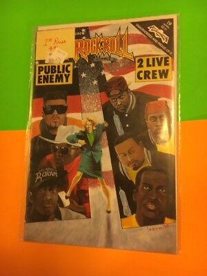 Public Enemy 2 Live Crew Revolutionary Rock n Roll Comic Book #19 NEW Mint Rare