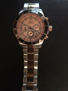 Invicta 12842 Specialty Chronograph Rose Dial Watch