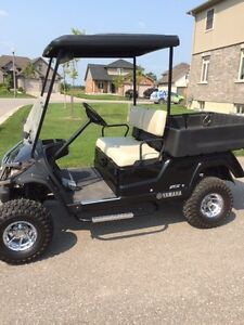 Yamaha Golf Cart - Adventurer Two Gas Utility Cart