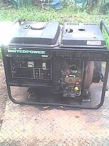 GENERATOR 3.6 kva Diesel genset less that 50hrs use Minden Somerset Area Preview