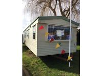 CHEAP FULLY FURNISHED Static caravan holiday home for sale in Husntanton NORFOLK