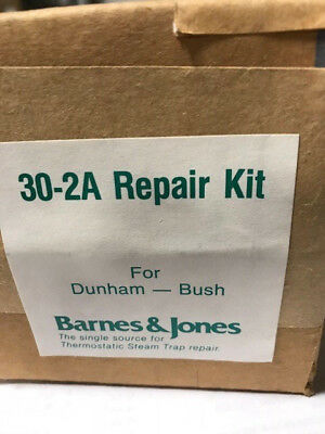 Barnes Jones 30-2a Low Pressure Steam Trap Repair Kit - New In Box