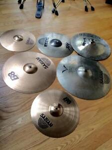 Ensemble de cymbales Sabian / Wuhan