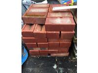 50 Brand New Red London Brick Company Bricks