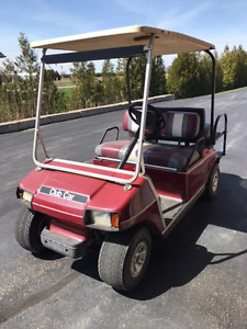 Golf Cart/Club Car DS, will sell fast