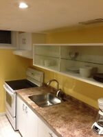 Basement Apartment FULLY furnished Watch|Share |Print|Report Ad