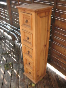 Mexican Style 5 Drawer Cabinet
