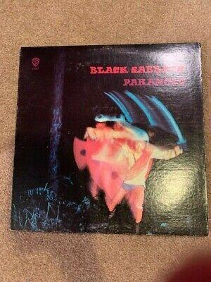 BLACK SABBATH PARANOID 1970 WARNER BROS. WS 1887