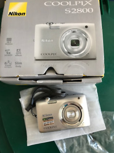 Nikon 2800 Coolpix Camera 20.1MP for Sale - Like New in Box