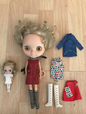 Hollywood Blythe Doll BL-02 + PBL-02 Takara Licca  CWC 2001 Petite Matte