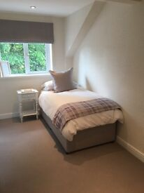 Practically brand new single mattress & divan!