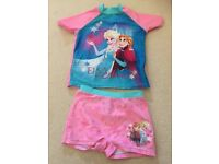 Frozen swim suit size 4-5 years