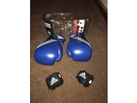 Boxing Gloves 12 0Z with Velcro Hand Wraps
