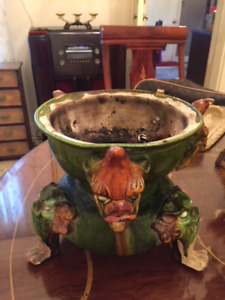 Antique Dragon Cauldron (one of a kind) purchased in New Orleans