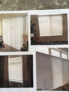 Solid Vinyl Faux Wood Indoor Window and Patio Blinds for Sale