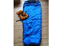 Children/Youth Sleeping bag: Mammut Ajungilak Tundra Junior 150 cm