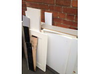 Good lot of cupboard doors for use as doors or firewood