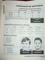 revue de hockey select 89 90