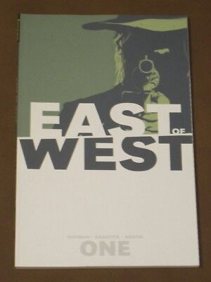 EAST OF WEST VOLUME 1 TPB VF FOUR HORSEMEN OF THE APOCALYPSE HICKMAN IMAGE