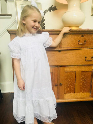 Children's Boutique Dresses (White Heirloom Dress NEW * boutique)
