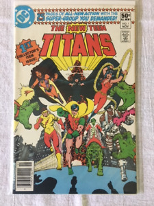 The New Teen Titans comic books - #1, #2, #44 - Key Issues.