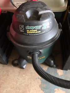 Shop Vac with Attachments (Vacs and Blows)
