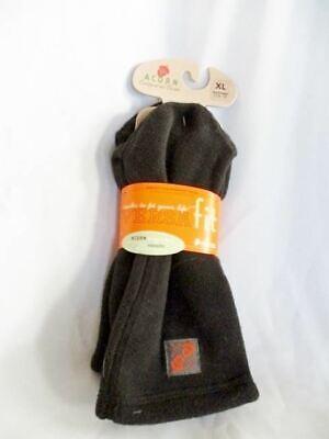 NEW Mens ACORN COMFORT VERSA FLEECE Slipper Sock  XL 11-13 BLACK
