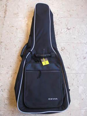 GEWA Gitarrentasche, 4/4 Größe, Economy 12, Klassikgitarre, schwarz
