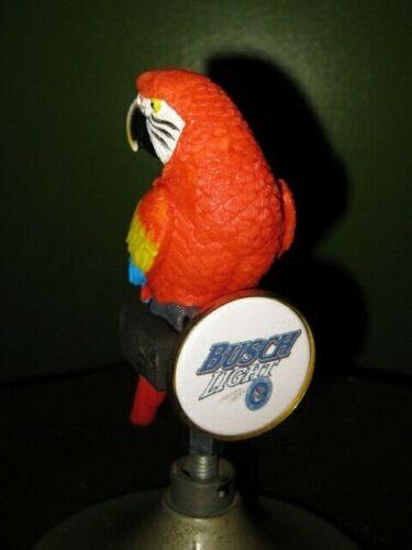 beer tap handle busch light parrot